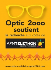 Optic 2000 s'engage pour l'AFM-Téléthon