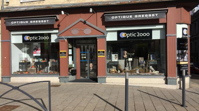 magasin optic2000 à Pontarlier