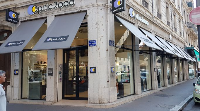 magasin optic2000 à LYON