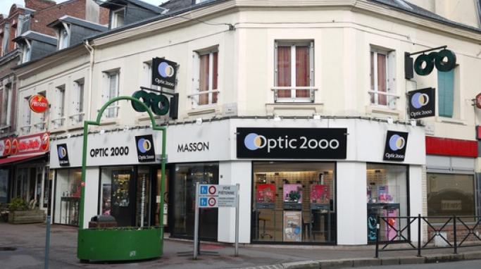 magasin optic2000 à LILLEBONNE