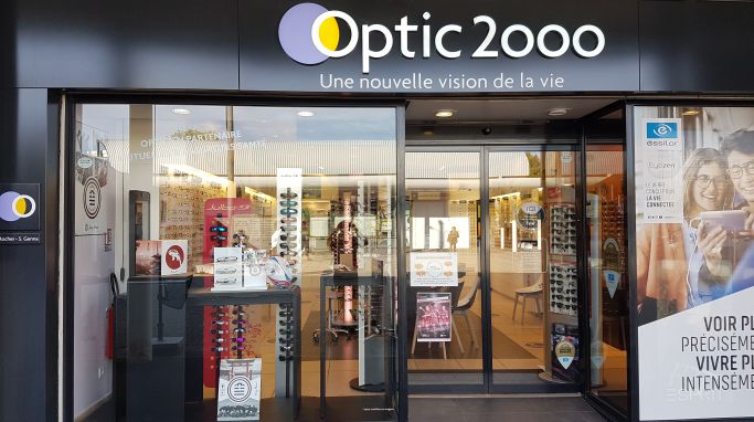 magasin optic2000 à Fleury-les-Aubrais