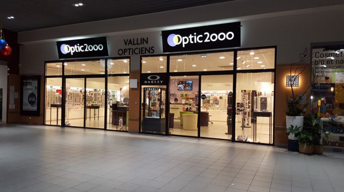 magasin optic2000 à RUOMS