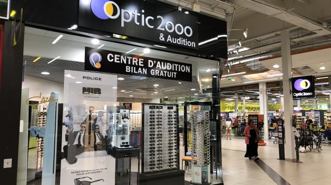 magasin optic2000 à DRAGUIGNAN