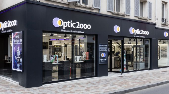 magasin optic2000 à Melun