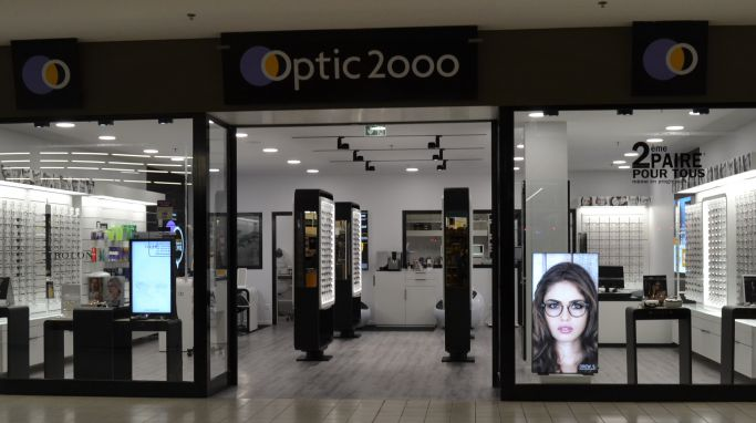 magasin optic2000 à DOUBS