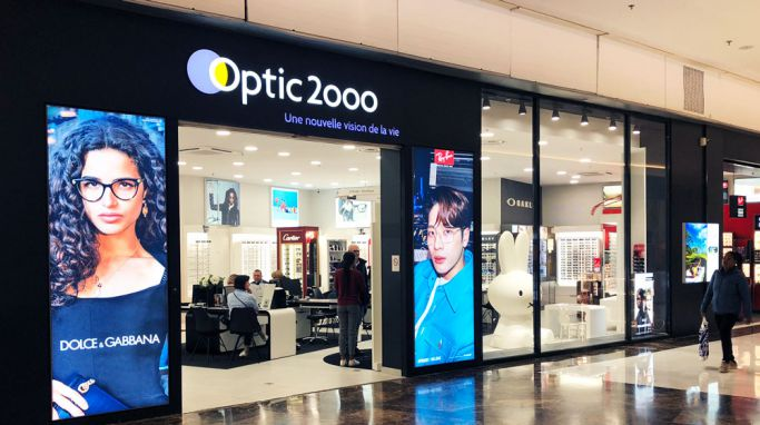 magasin optic2000 à LIEUSAINT