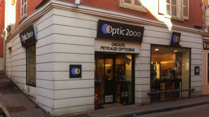 magasin optic2000 à LA COTE SAINT ANDRE