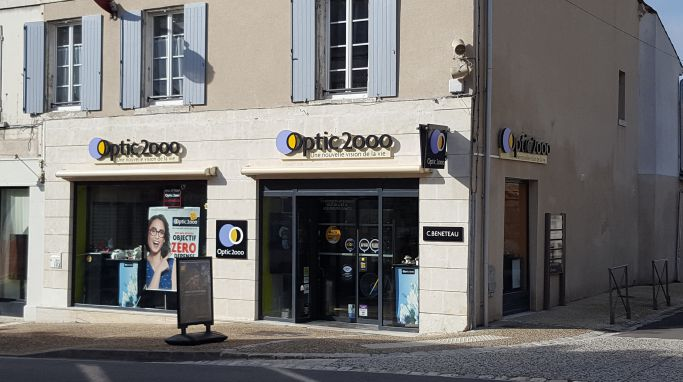 magasin optic2000 à Jarnac