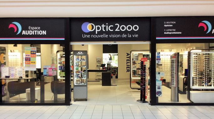 magasin optic2000 à Blain