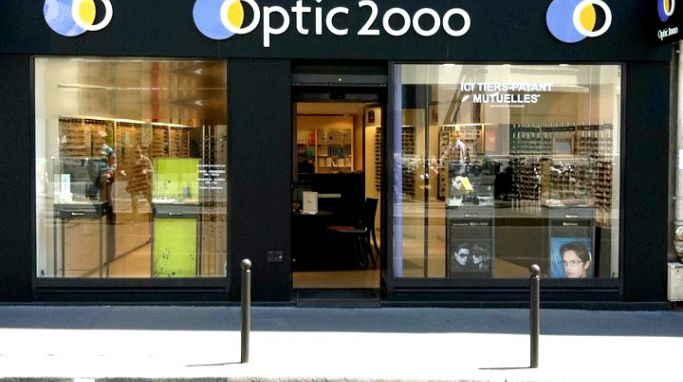 magasin optic2000 à Paris 2
