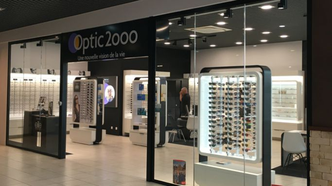 magasin optic2000 à Rivières