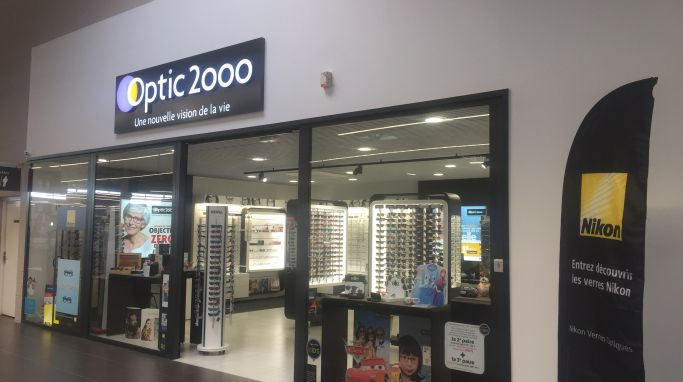 magasin optic2000 à Wingles