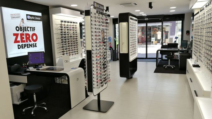 magasin optic2000 à MONTBELIARD