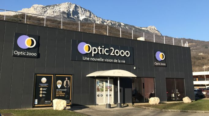 magasin optic2000 à ECHIROLLE