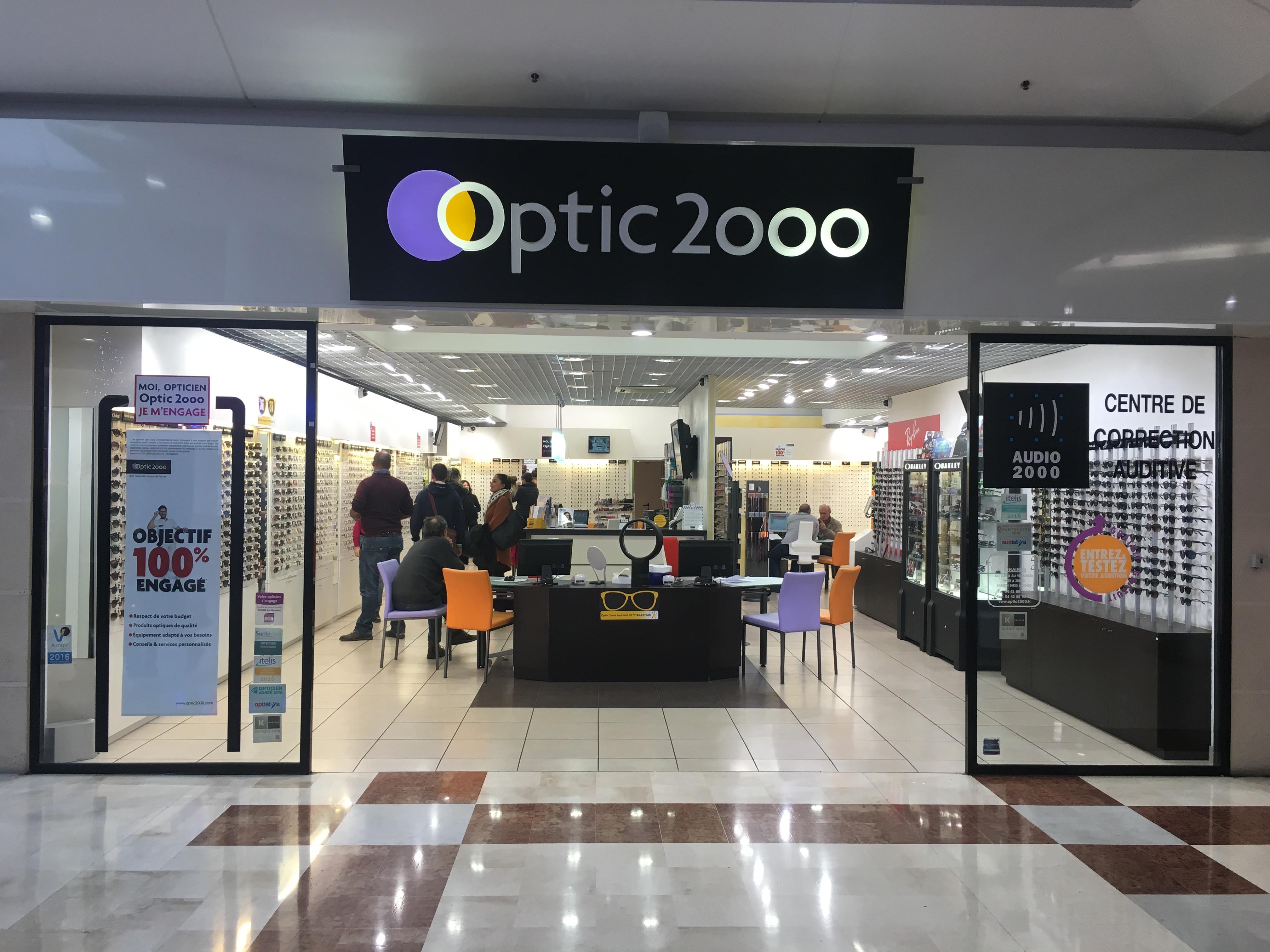 Opticien Optic 2000 VITROLLES 13127 - lunettes femme, lunettes homme - Optic  2000 8245d6721346