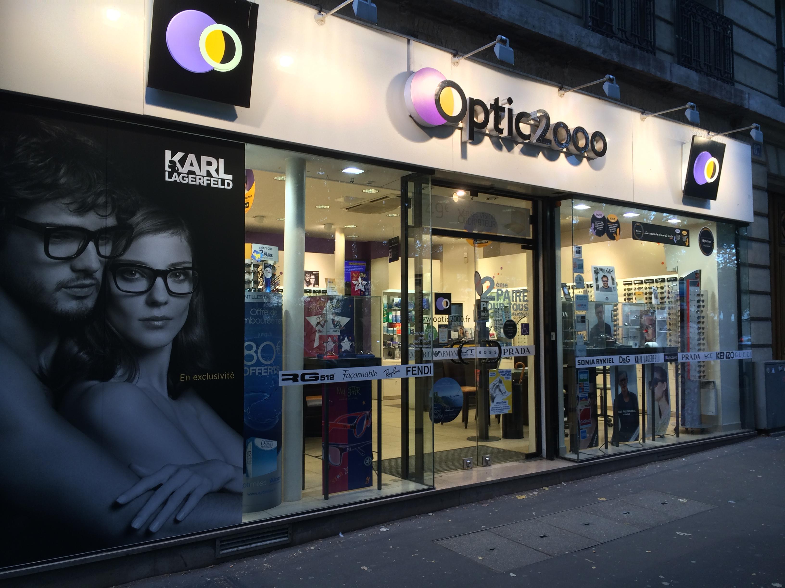Opticien Optic 2000 PARIS 75020 - lunettes femme, lunettes homme - Optic  2000 4286e5029970