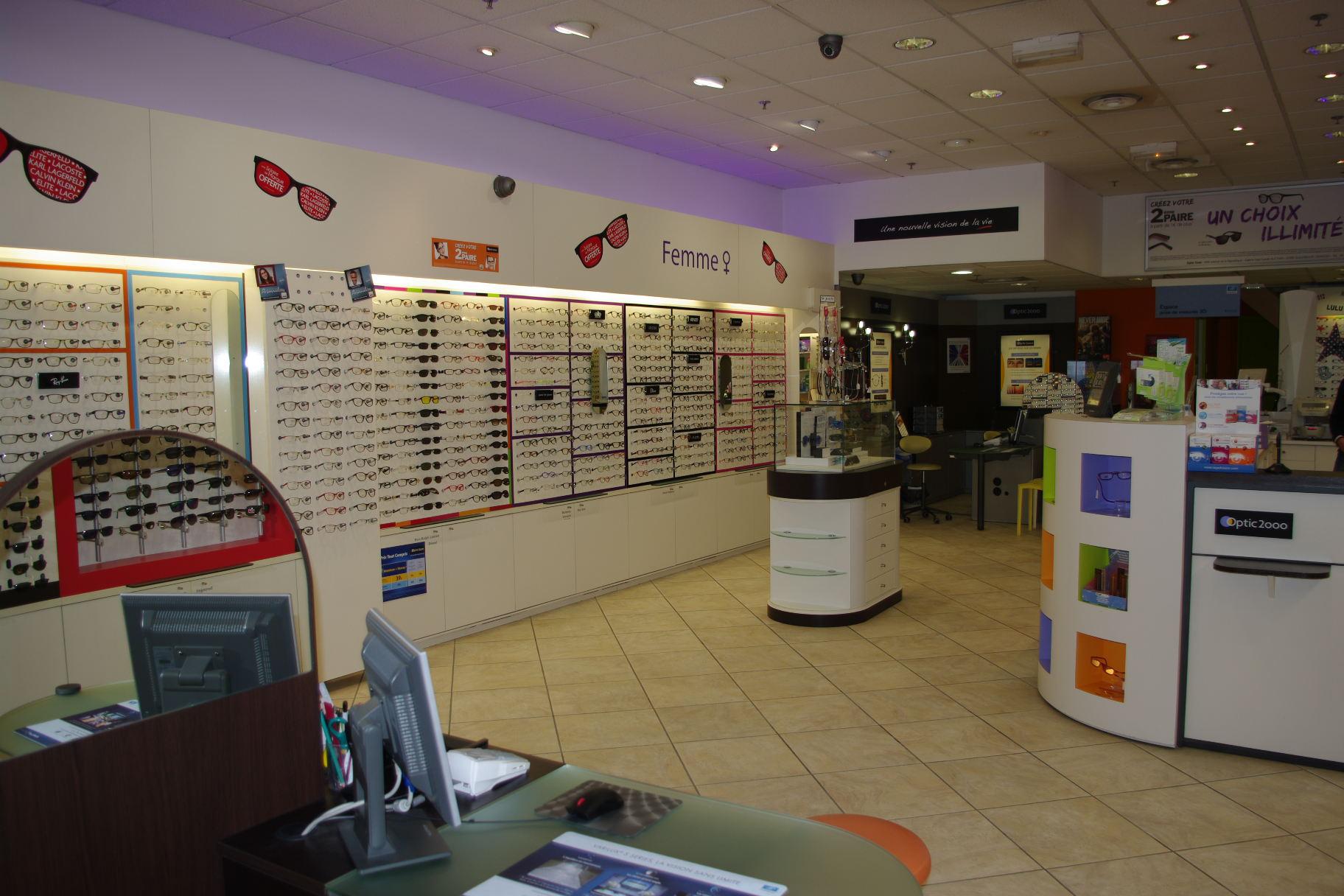 Opticien guilherand granges 07500 lunettes femme lunettes homme optic 2000 - Guilherand granges 07500 ...