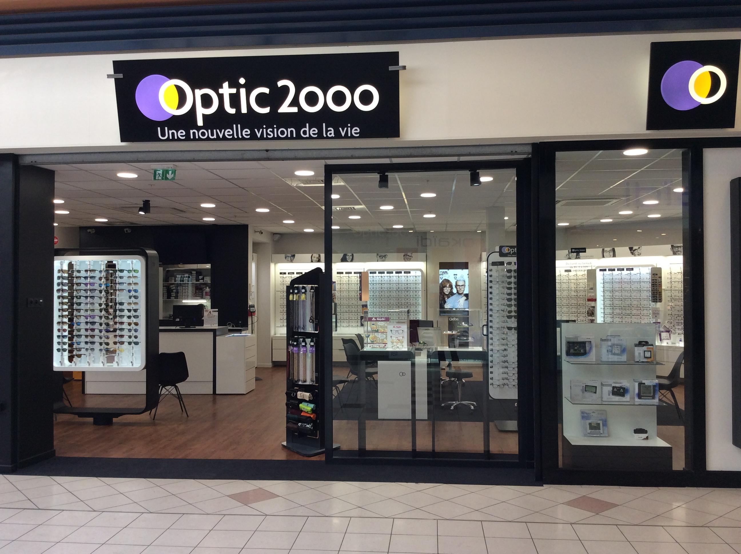 Opticien Optic 2000 SAINT PARRES AUX TERTRES 10410 - lunettes femme,  lunettes homme - Optic 2000 12deb5f520e0