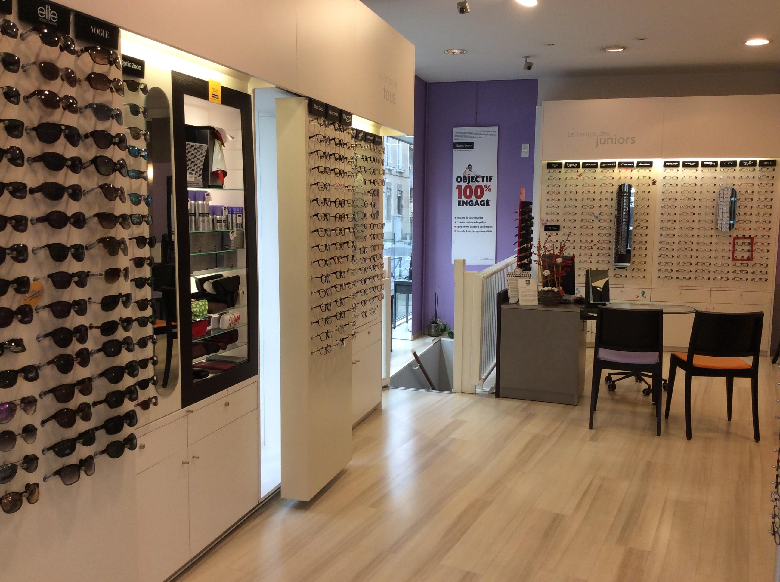 Opticien Optic 2000 LAVAL 53000 - lunettes femme, lunettes homme - Optic  2000 563f5bbef5d8