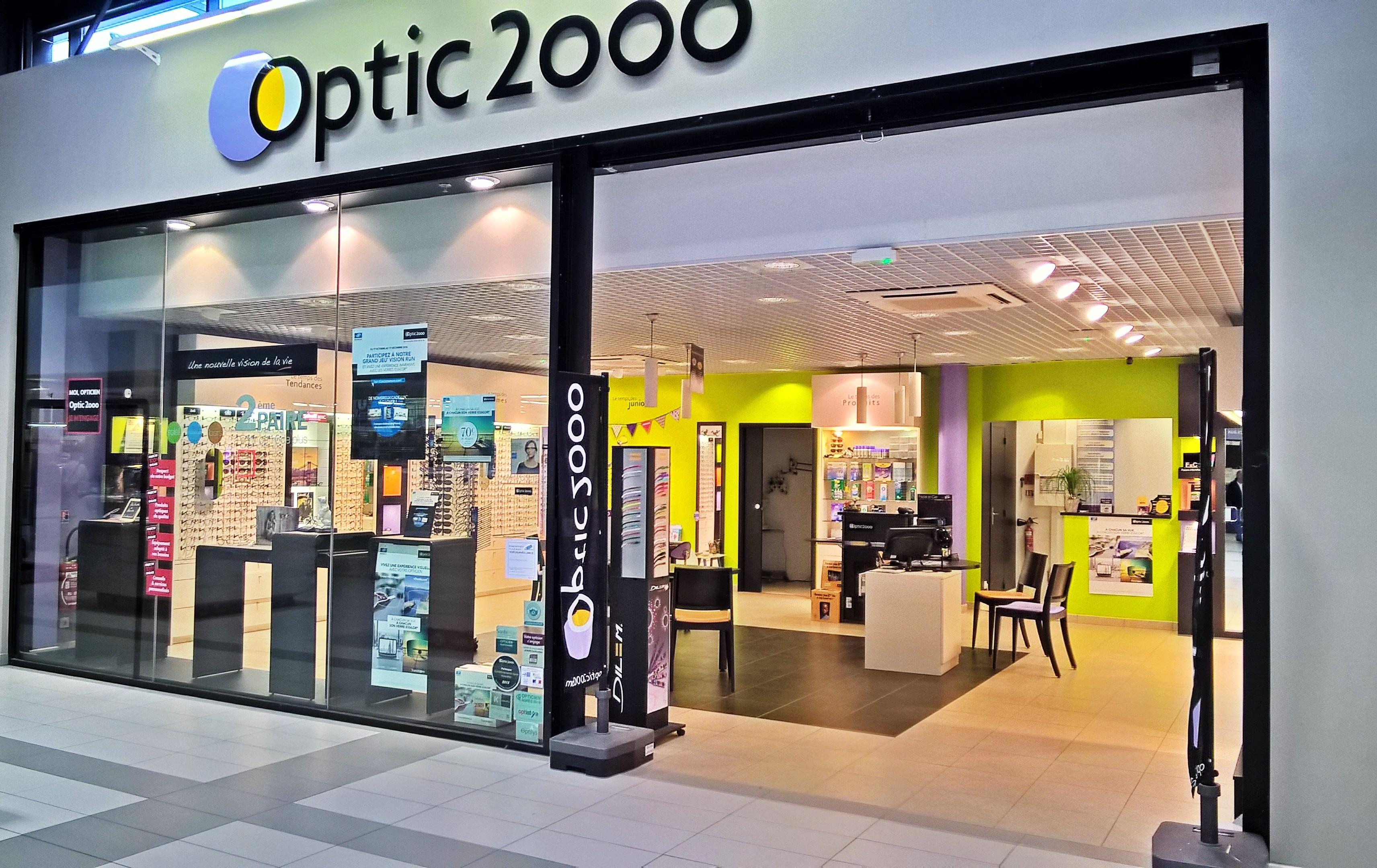 Opticien Optic 2000 VIVONNE 86370 - lunettes femme, lunettes homme - Optic  2000 268b3d0ab752